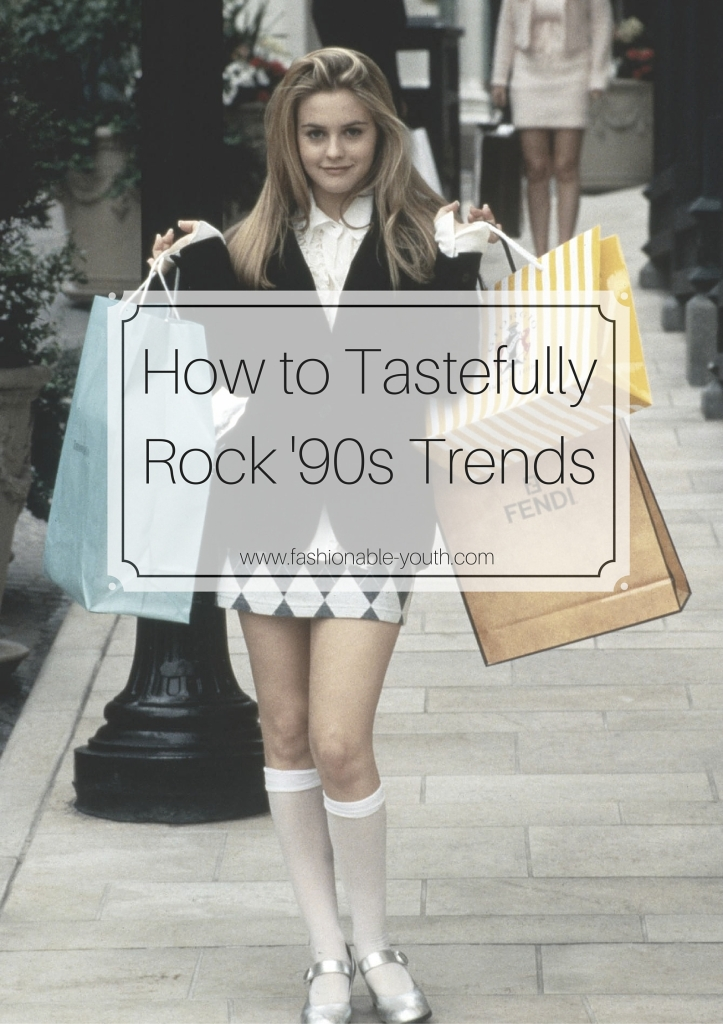 How to Tastefully Rock '90s Trends